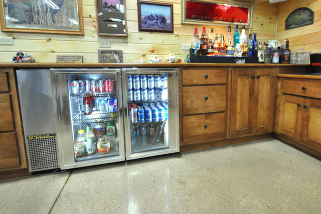 Ideas For A Rustic Man Cave : Rustic man cave bar modern design ideas