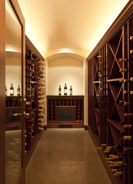 Marin Residence modern-wine-cellar