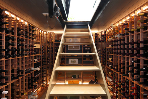 Contemporary Wine Cellar by Auckland Architects & Designers jessop  architects