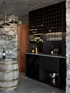 wine cellar kitchen cabinet design