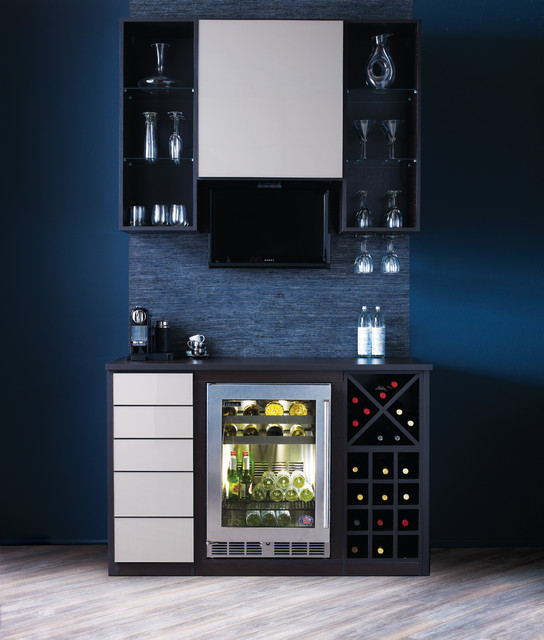 Home Bar Design Ideas Houzz: Contemporary
