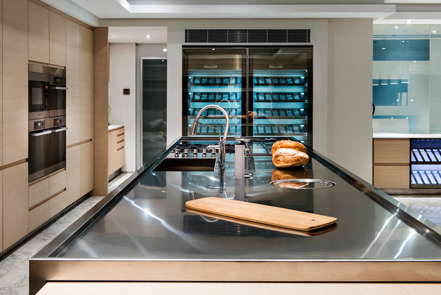 Minum Cove Concept Home Perth Wa Contemporary Wine Cellar Perth By European Ceramics