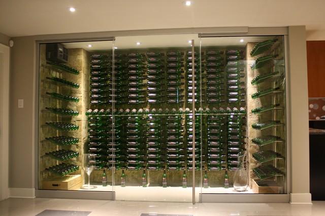Modern 1 Wine Cellar Ottawa By Capital Cellars