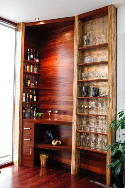 Modern Bachelor Pad modern-wine-cellar