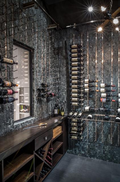 Modern Wine Cellar Houston Modern in Memorial modern-wine-cellar