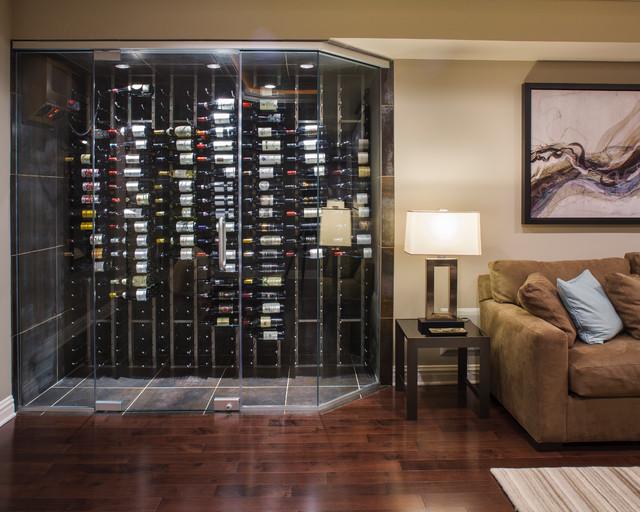 Modern Marvel Contemporary Wine Cellar New York By