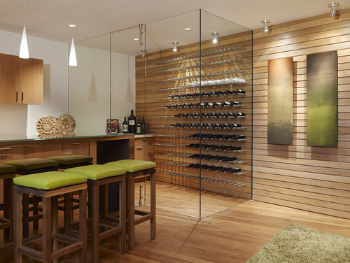 Raise a glass to these amazing kitchens for wine lovers
