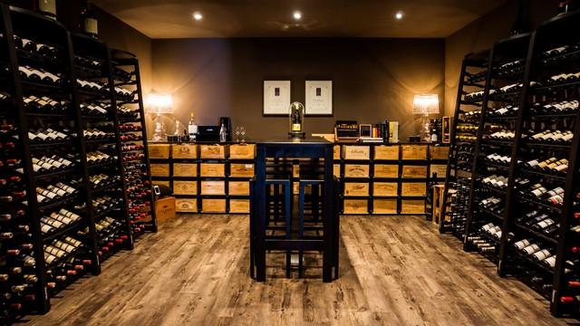 Modulosteel and Modulorack by EuroCave modern-wine-cellar & Modulosteel and Modulorack by EuroCave - Modern - Wine Cellar ...