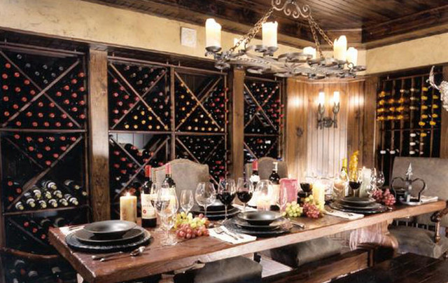 Montgomery Roth traditional-wine-cellar