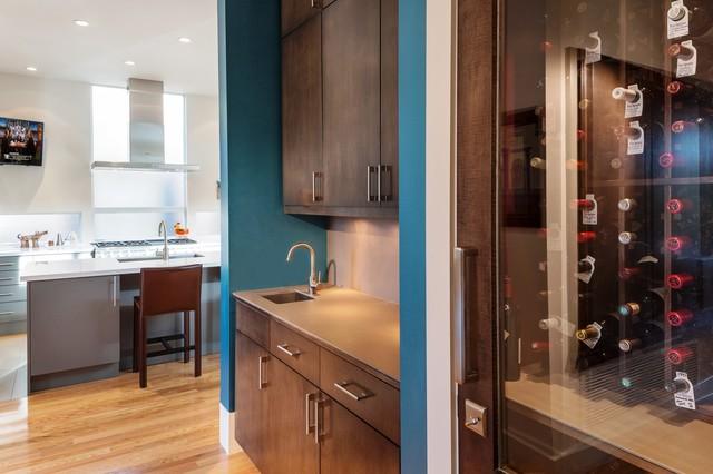 Montrose Modern contemporary-wine-cellar