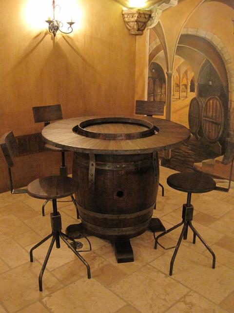 Moody traditional-wine-cellar