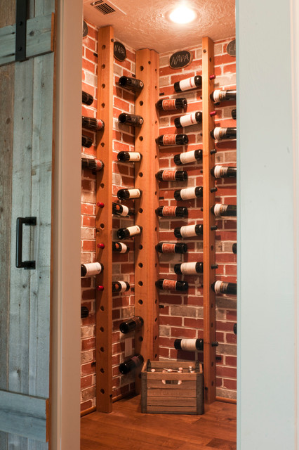 My Houzz: Gurfinkel Family transitionalwinecellar