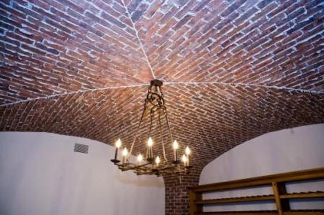 Nancy Creek traditional-wine-cellar