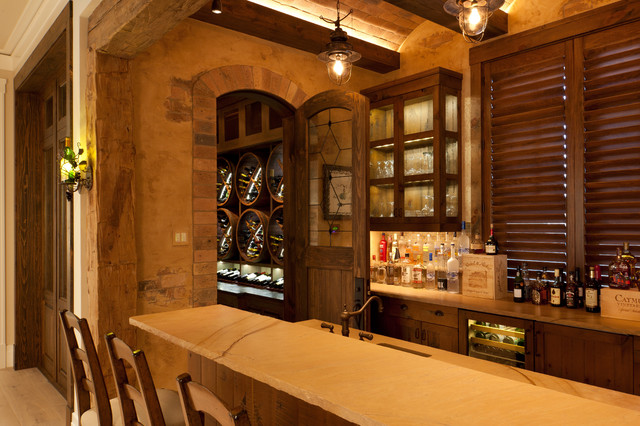 Naples Traditional Wine Cellar Miami By Busby Cabinets