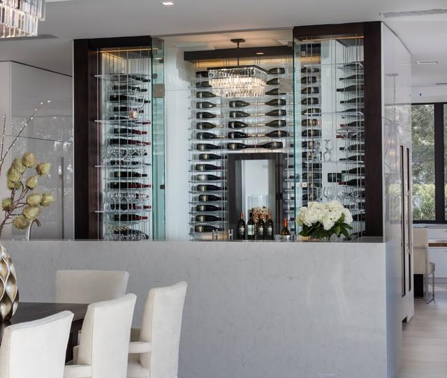 New American Home by Phil Kean Elevate - Wine Storage System contemporary- wine- & New American Home by Phil Kean Elevate - Wine Storage System ...