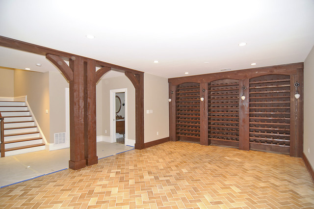 New Home traditional-wine-cellar