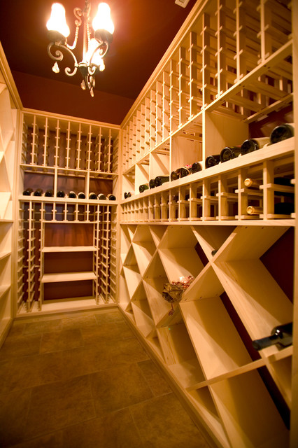New Home-SCur traditional-wine-cellar