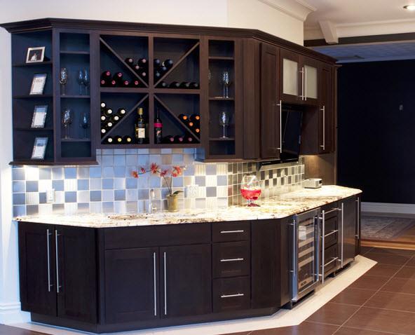 Northeast Cabinet Designs (NH) contemporary-wine-cellar