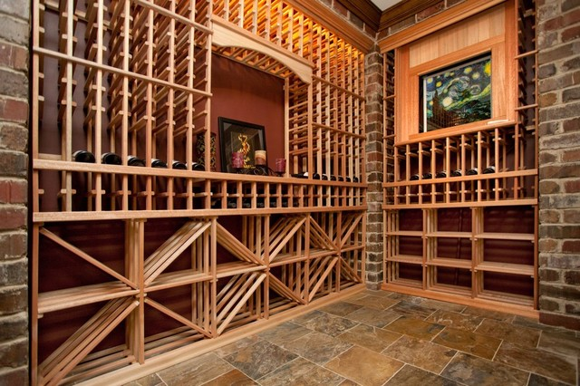 Oakley home builders for In home wine cellar