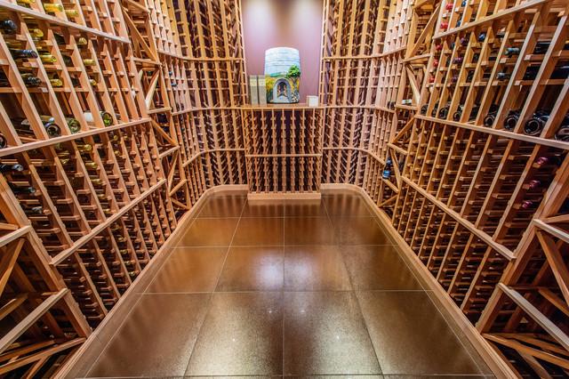 Ocean Front Estate traditional-wine-cellar
