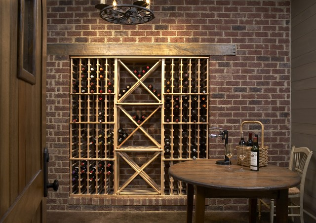 Oenophile Rustic Wine Cellar Birmingham By