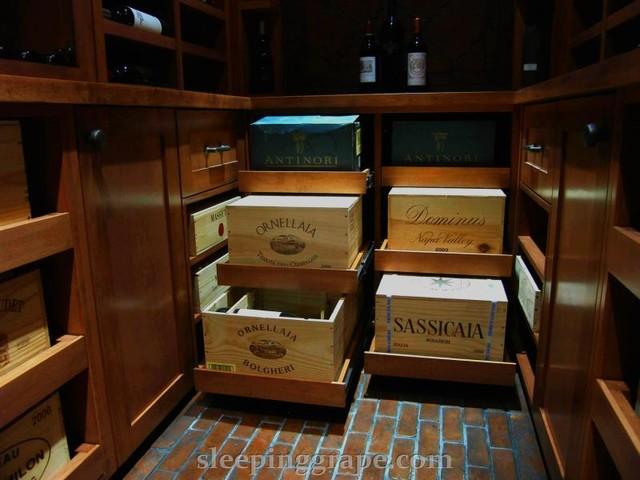 Old Italy, Local Maple Wine Cellar mediterranean-wine-cellar