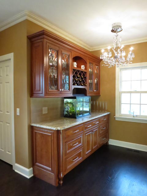 Ornate kitchen and bath traditional-wine-cellar