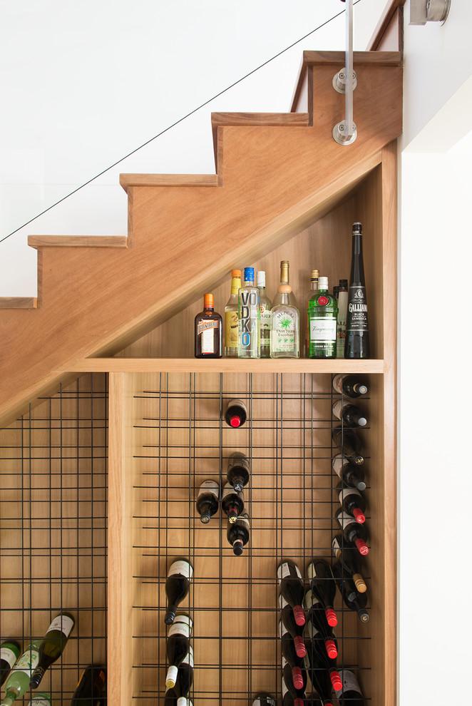 Osborn Residence Contemporary Wine Cellar Sunshine Coast By Zooi Design
