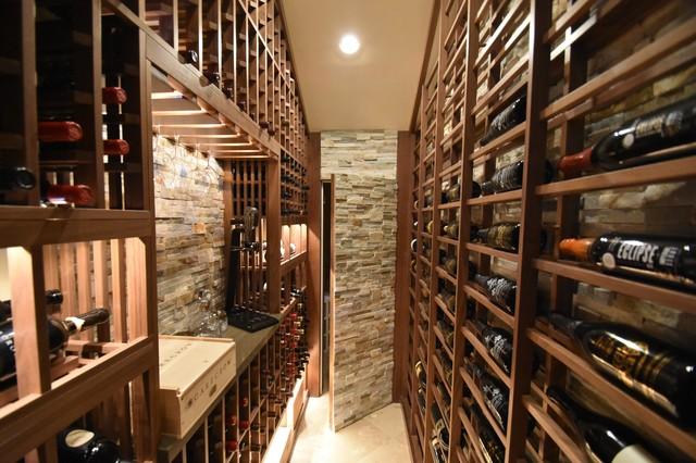 Los Angeles Walk In Custom Wine Cellar