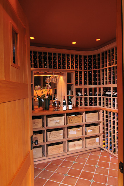 Parkinson Avenue West craftsman-wine-cellar