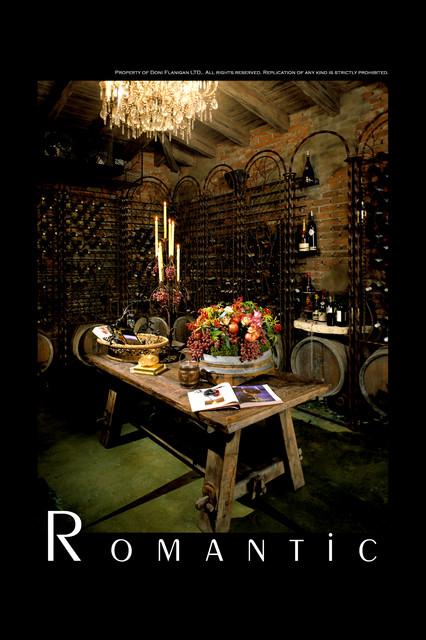 Pasadena Project Traditional Wine Cellar Los Angeles