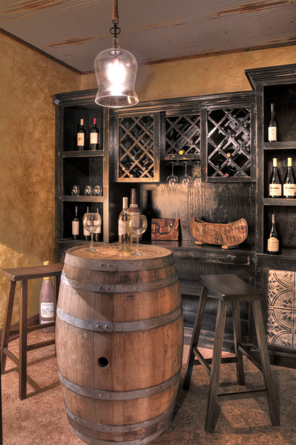 Pig Bay 1 Rustic Wine Cellar Minneapolis By Lands