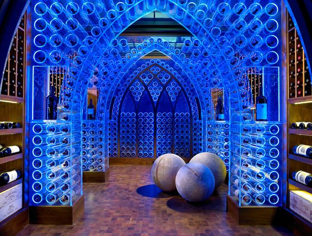 Pool House & Wine Cellar contemporary-wine-cellar