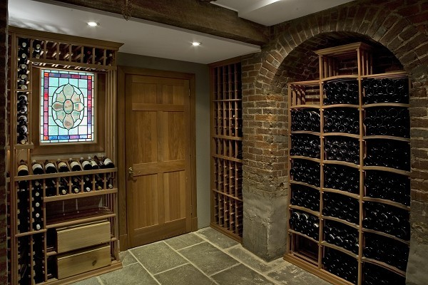 Prince street--Wine Cellar traditional-wine-cellar