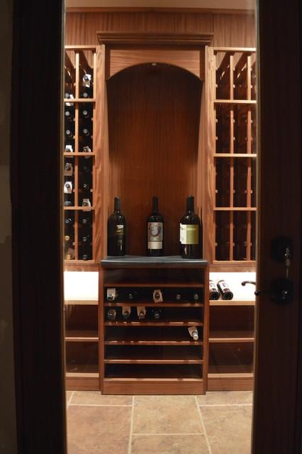 Private Condo Stamford Connecticut contemporary-wine-cellar