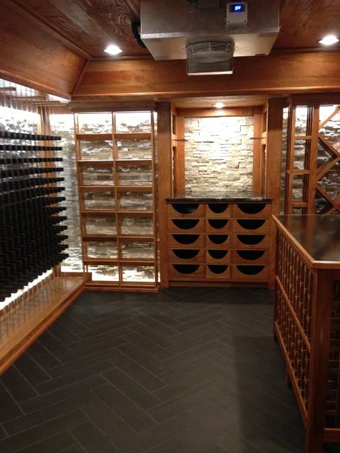 Private Hide Away modern-wine-cellar