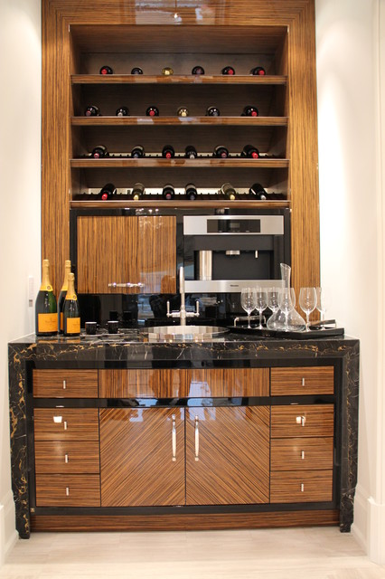 Private Residence contemporary-wine-cellar