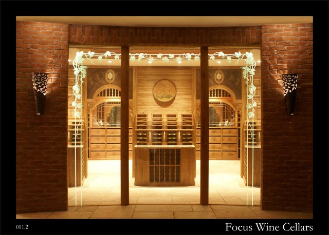 Private Walk In Wine Cellar