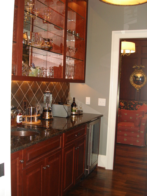 Rans Residence traditional-wine-cellar