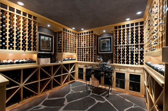 Recent work traditional wine cellar vancouver by for Garage wine cellar