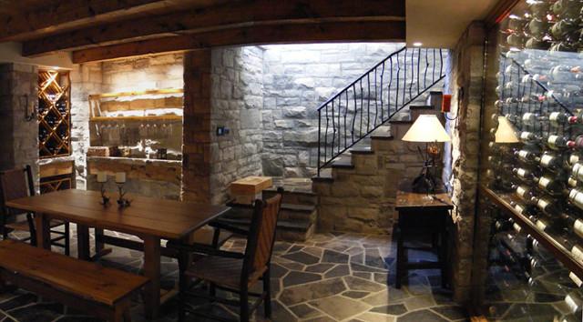Red Ridge Wine Cellars traditional-wine-cellar