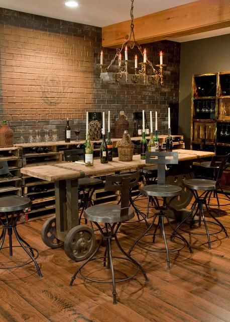 Rolling Wine Cellar Table klassisk-vinkaellare