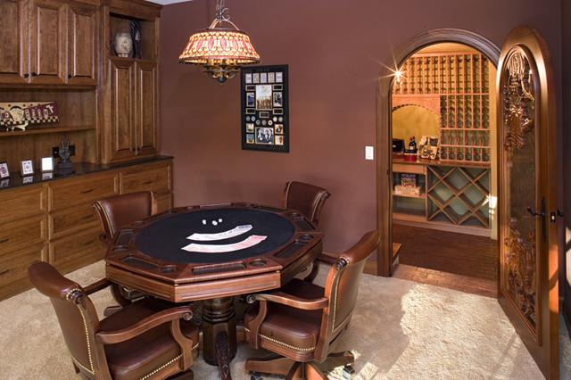 Royal Oaks Design, Inc. traditional-wine-cellar
