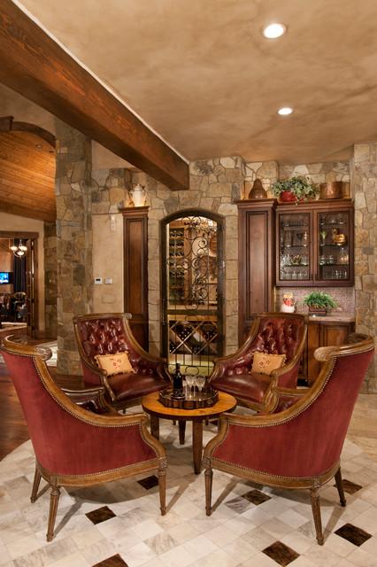 Mountain Home Interior Design Ideas: Rustic Modern Mountain Home
