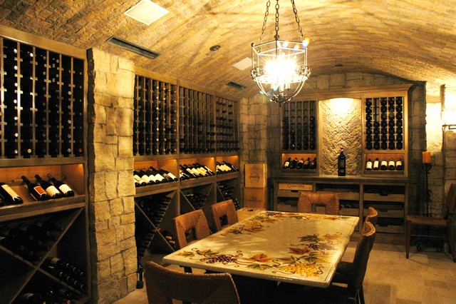 Wine Cellars Of The French Tradition
