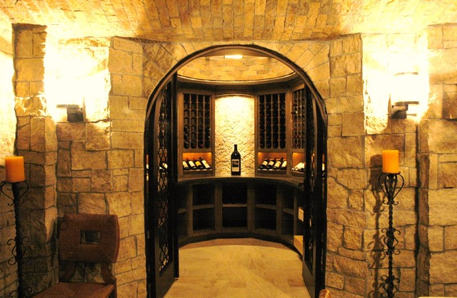 Wine cellars of the french tradition victorian wine for Wine grotto design
