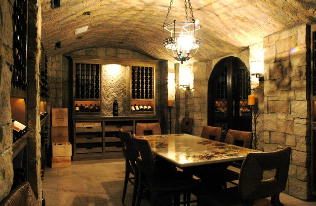 Wine Cellars of The French Tradition traditional wine cellar