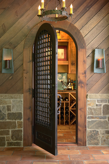 Highcroft Residence traditional wine cellar