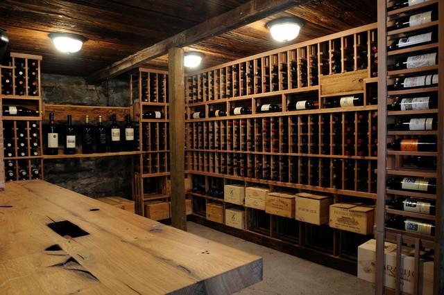 Rustic Wine Cellar rustic-wine-cellar & Rustic Wine Cellar - Rustic - Wine Cellar - Bridgeport - by New ...