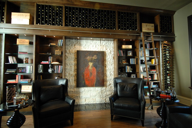 Salon - The New American Home 2011 eclectic-wine-cellar